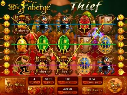 The Faberge Thief - Video Slot