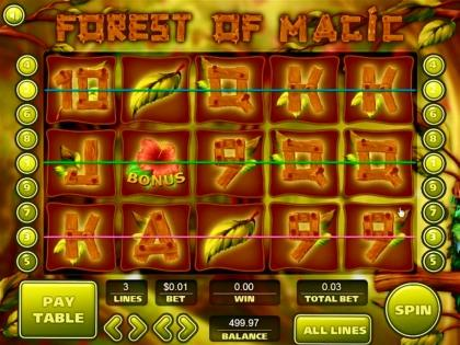 Forest of Magic - Video Slot