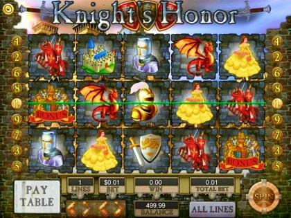 Knights Honor - Video Slot