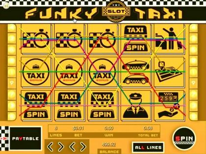 Funky Taxi - Video Slot