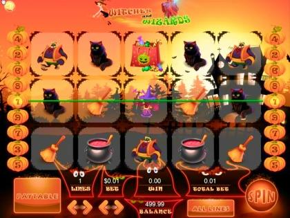 Witches and Wizards - Video Slot